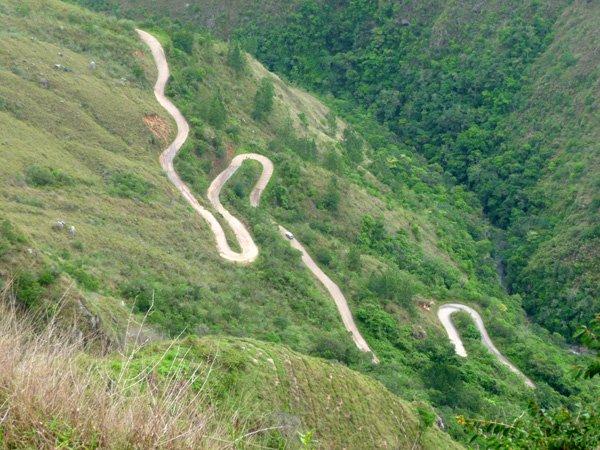 Via hacia Chacanta