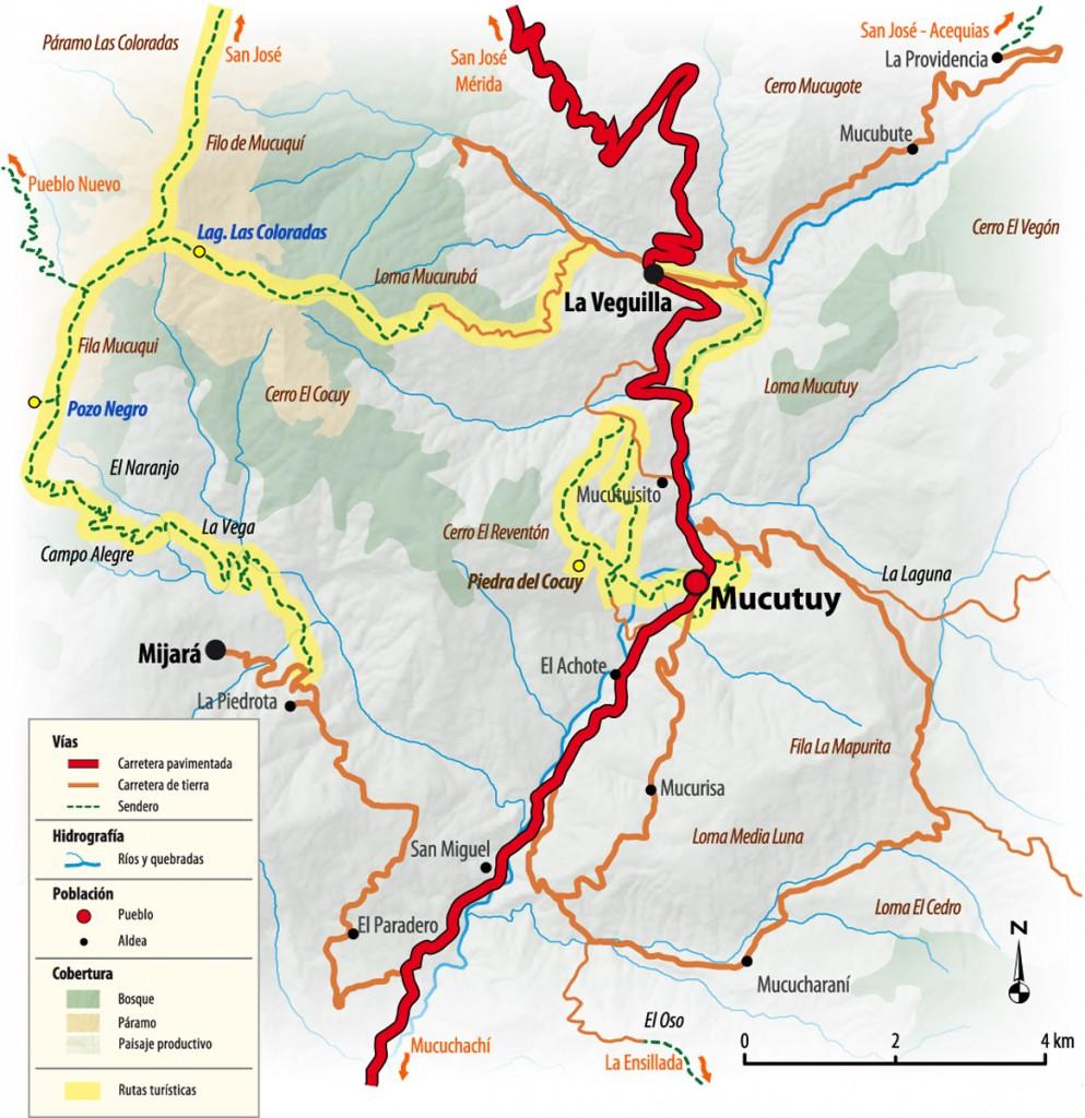 Mapa de Mucutuy