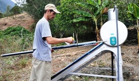 Calentador solar mejora servicio turístico en Andes Venezolanos