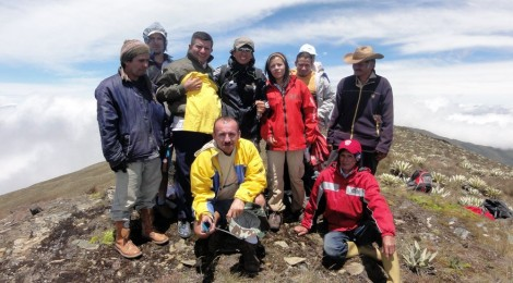 Cumbre en lo más alto de los Pueblos del Sur