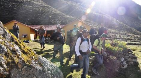 Baquianos de los Pueblos del Sur participan en un taller de capacitación