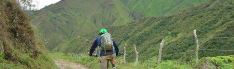 Ciclismo de montaña entre Pueblo Nuevo y Chacantá