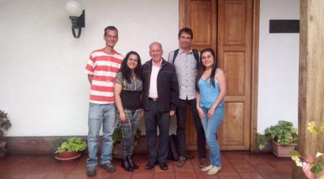 izq a der Jhonny Márquez, Orfa Avedaño, Ramon Sosa, Ramon Molina y Gabriela Trejo