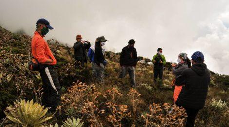 En el marco del proyecto ANDES SUR fase II Salida de campo a Pueblos del Sur cierra curso de familiarización turística